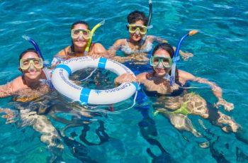 Compass-snorkel