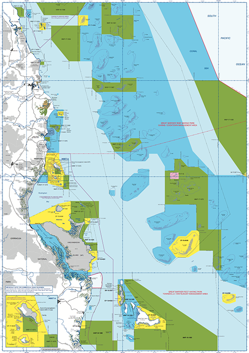 Great Barrier Reef Marine Parks Zoning-Innisfail