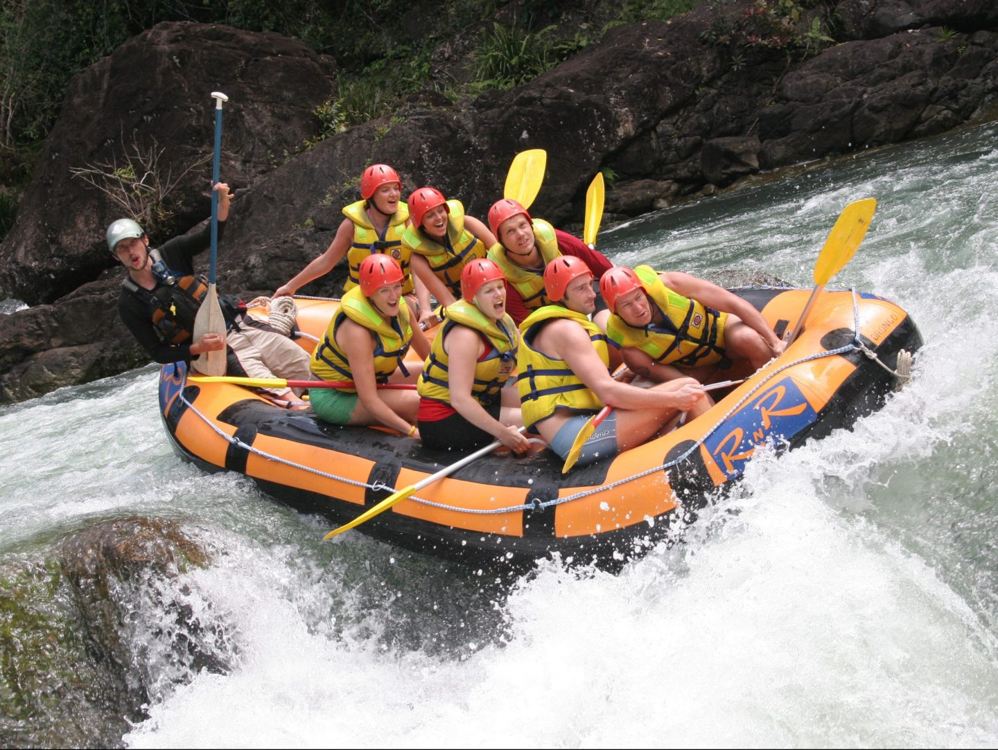 Cairns White Water Rafting - All Cairns Tours